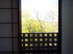 老健の部屋からの眺め