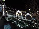 東戸塚駅西口のイルミネーション