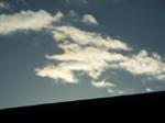雲の日の出