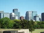 江戸城南方の眺望