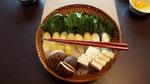 牛鍋の野菜