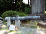 韮山反射炉製の砲台