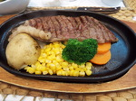 レストラン・バンカーのステーキ