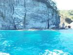 シャコタンブルーの海