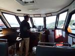 ニューシャコタン号操舵室