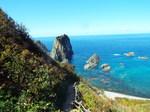 島武意海岸屏風岩
