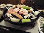ジンギスカン鍋