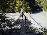 夢の吊り橋歩行