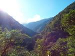 南アルプス南部・朝日岳の稜線