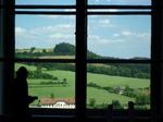 窓の外は田園