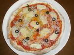 シラスのピザ