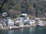 愛宕山からの浦賀港