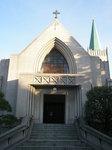 カトリック山手教会聖堂正面