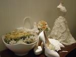 花嫁衣装の縮尺レイアウト
