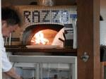ラッツィオのピザ釜