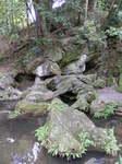 硅灰石の山水の庭