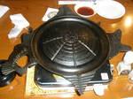 北海道を型どったジンギスカン鍋