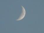 神無月六日の月