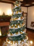 鶴のクリスマスツリー