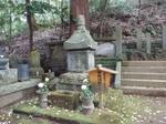 連歌師・宗祇の墓