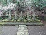 小田原北条氏五代の墓