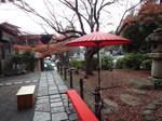 釜倉宮境内の紅葉