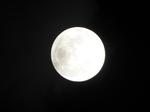 2018.12.22 20:45 既望の月