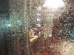 台風の水滴
