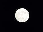 2019.11.12 17:26 神無月十六夜の月(満月5時間前)