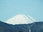 東名厚木インター辺りの富士