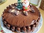 Kさんママ作Xmasチョコケーキ