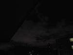 月明かりの雲