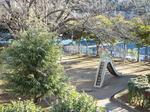 朝日の公園