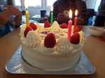 Nちゃんバースデーケーキ