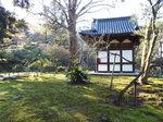 旧天瑞寺寿塔覆堂の苔庭