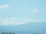 白峰三山の白い峰