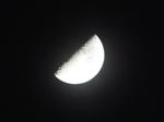 旧暦閏卯月の八 上弦の月 2020.05.30