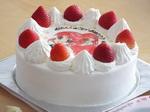 Yちゃん三歳の誕生ケーキ