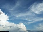 2020.07.26の空 梅雨末期の雲