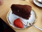 Kさんお手製のチョコケーキ