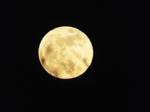 2018.01.02 旧暦霜月の十六の満月・スーパームーン
