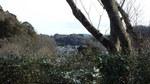 石窯ガーデンテラスからの浄明寺の町
