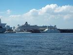 大桟橋豪華客船