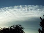 魁の秋の雲