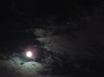 長月の小望月と火星