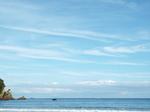 南伊豆弓ヶ浜の空と海