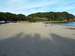 夕影迫る弓ヶ浜