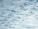 朝の雲(高積雲)2020.12.15 07:52