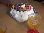 Yちゃん4歳誕生ケーキ