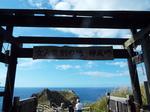 神威岬山門